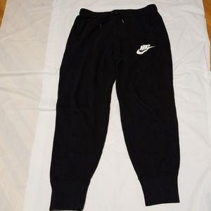 Nike Just Do It black sweat pant mens size medium